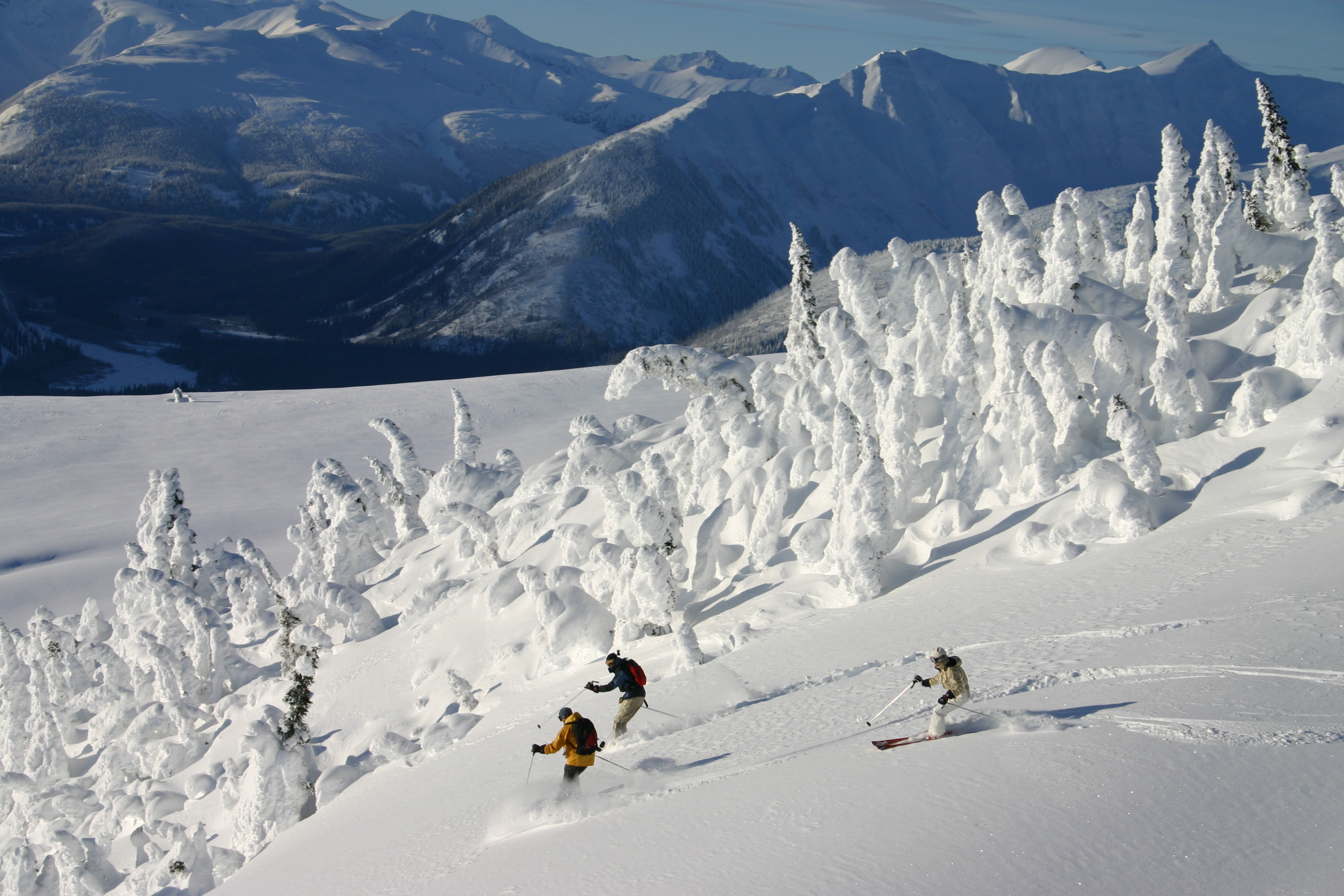 Ski the slopes at Revelstoke